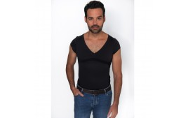 Tee shirt bonne posture percko « tenez-vous droit »  pour HOMME