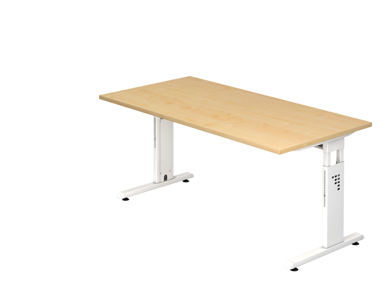 Bureau easy up réglable en hauteur manuel par manivelle cm