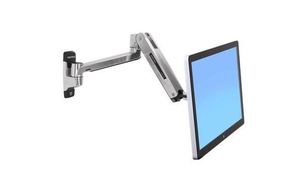 Bras LX HD pour écran LCD assis–debout, fixation murale