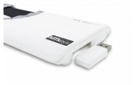Souris centrale Mousetrapper flexible blanc