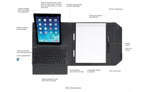 Étui 'Deluxe' pour Ipad mini 4 accessoire ergonomique