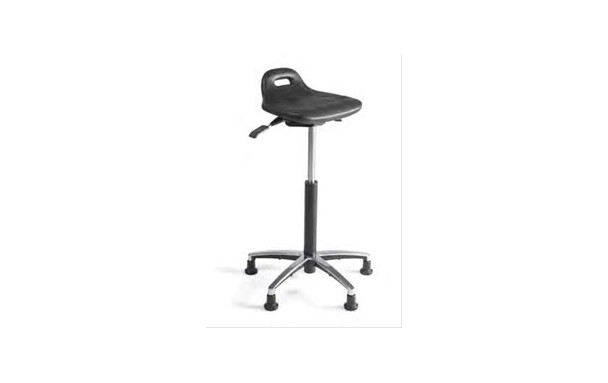Tabouret avec assise inclinable
