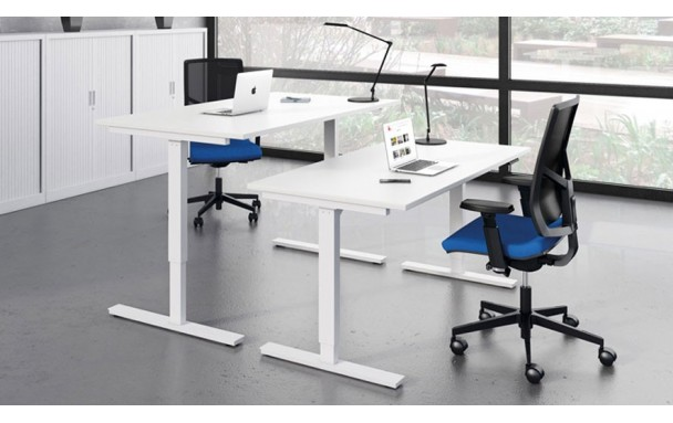 Bureau assis debout Essentiel up 120cm