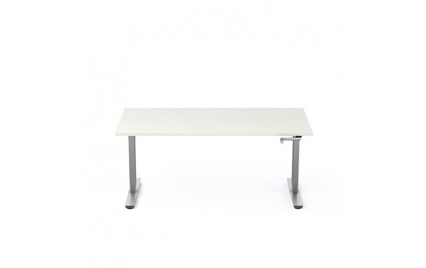 bureau r glable en hauteur par manivelle. Black Bedroom Furniture Sets. Home Design Ideas