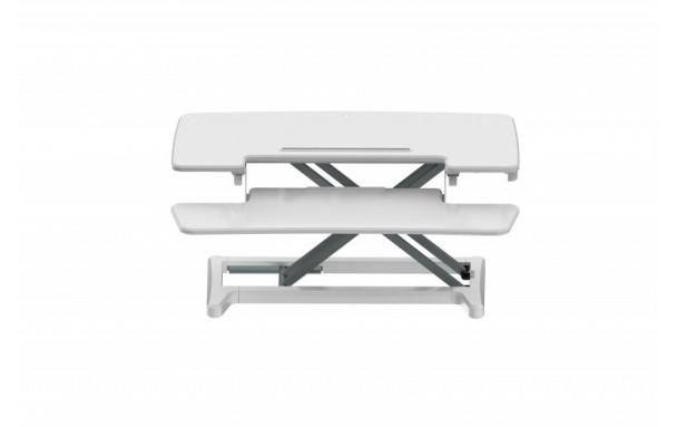 Station assis debout Sit-Stand Desk Riser 2 BLANC