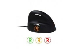R-Go HE Break Mouse Souris ergonomique, Moyen , Filaire gaucher