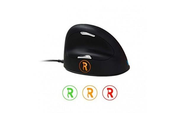 R-Go HE Break Mouse, Souris ergonomique, Moyen , Filaire droitier