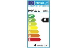 Lampe mobile LED MAUL seven colour vario noir