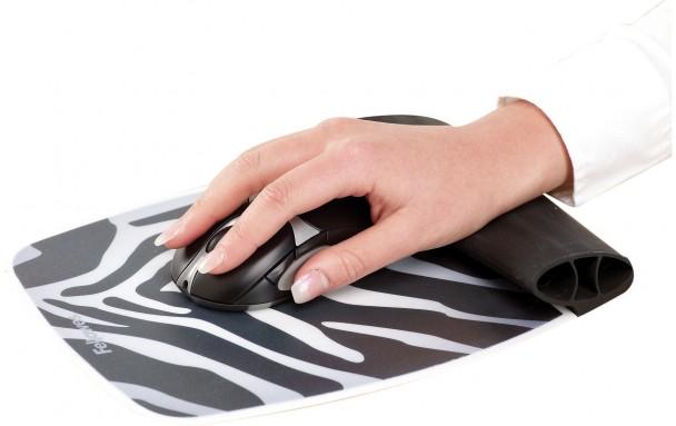 Tapis ergonomique silicone zèbre