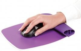Tapis ergonomique silicone violet