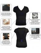 Tee shirt bonne posture  Percko « tenez-vous droit »  pour FEMME