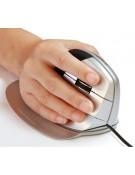 Souris verticale ergonomique sans fil EZ Mouse droitier