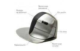 Souris ergonomique verticale EZ Mouse sans fil droitier
