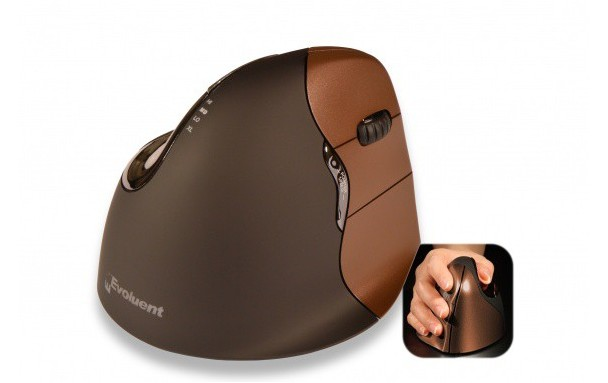 Souris verticale evoluent4 small wireless