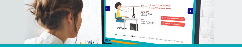 Formation en Présentiel  et E-learning Ergonomie Geste et Posture