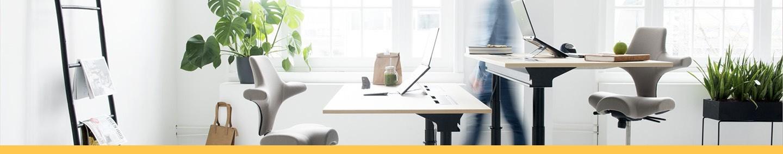 Bureaux ergonomiques réglables en hauteur