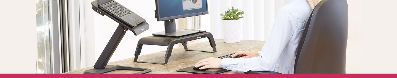 Support d'ordinateur & PC portable ergonomique | Posturite